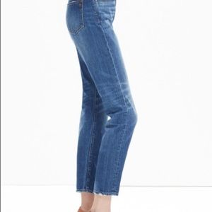 Madewell Jeans - Madewell straight leg crop jeans size 27
